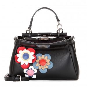 Fendi-Black-Flowerland-Micro-Peekaboo-Bag-300x300