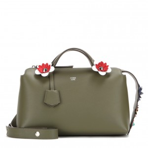 Fendi-Olive-Green-Flowerland-By-The-Way-Small-Bag-300x300