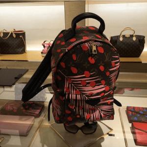 Louis-Vuitton-Palm-Sugar-PinCoquelicot-Monogram-Palm-Dots-Backpack-Bag-300x300