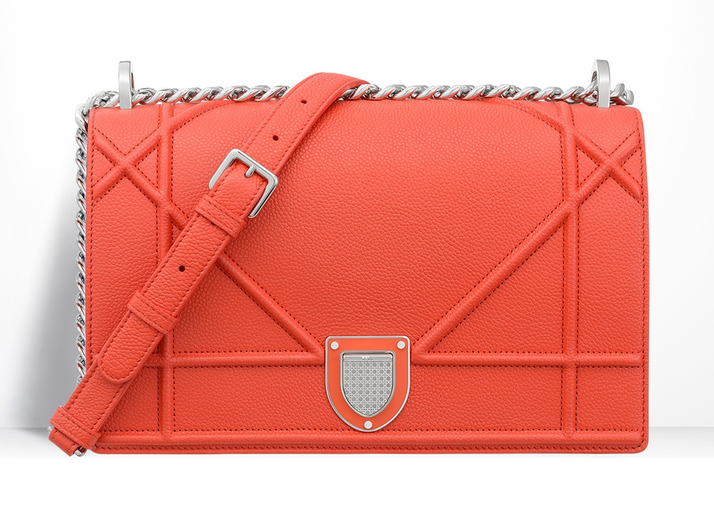 Christian-Dior-Diorama-Bag-Orange