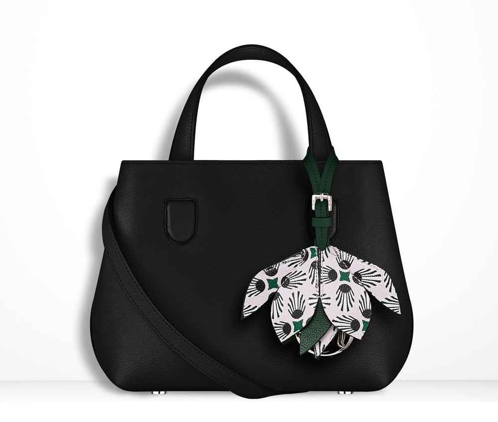 Christian-Dior-Mini-Blossom-Tote-Black