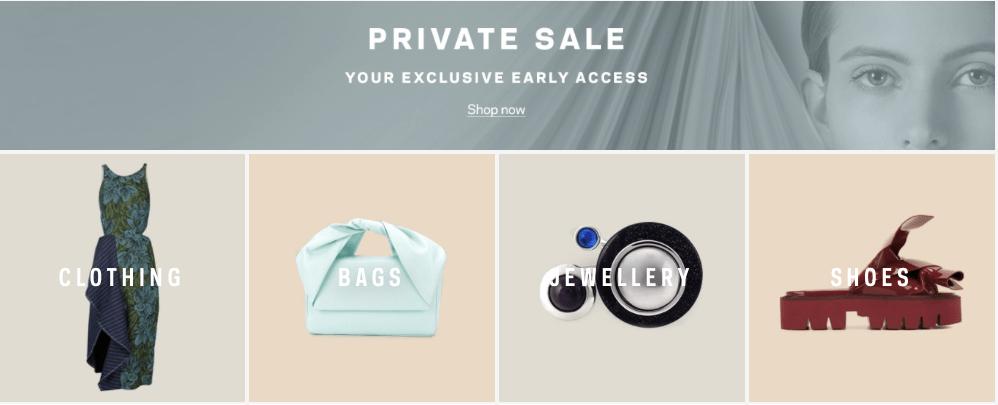 【2018最新更新】Farfetch Private Sale私密大促正确打开方法