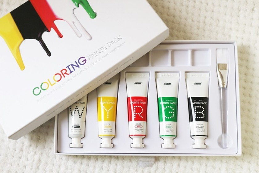 Coloring Paint Pack,是颜料还是面膜?