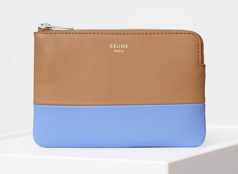 Celine-Solo-Coin-and-Card-Purse-Blue-375