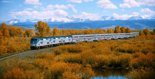 金秋十月,让Amtrak带你去赏十小时最美红叶