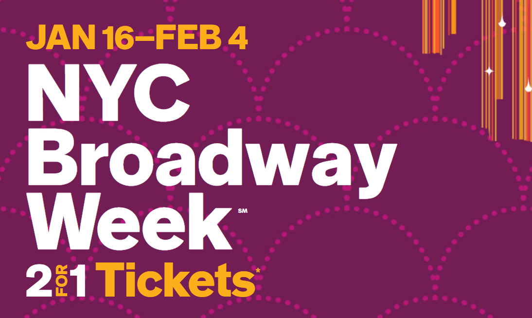 纽约冬季百老汇周已经开放抢票