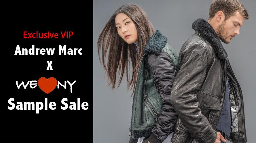 【独家邀请】冬季纽约最热门的Andrew Marc Sample Sale来啦