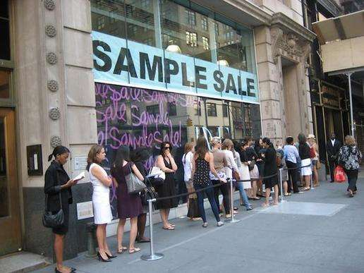 纽约10月值得去的sample sale大盘点