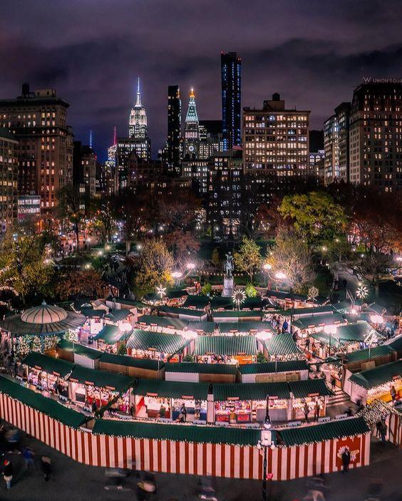 2017纽约联合广场集市日攻略
