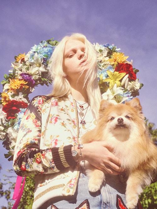Gucci为中国新年推出了狗年专属系列