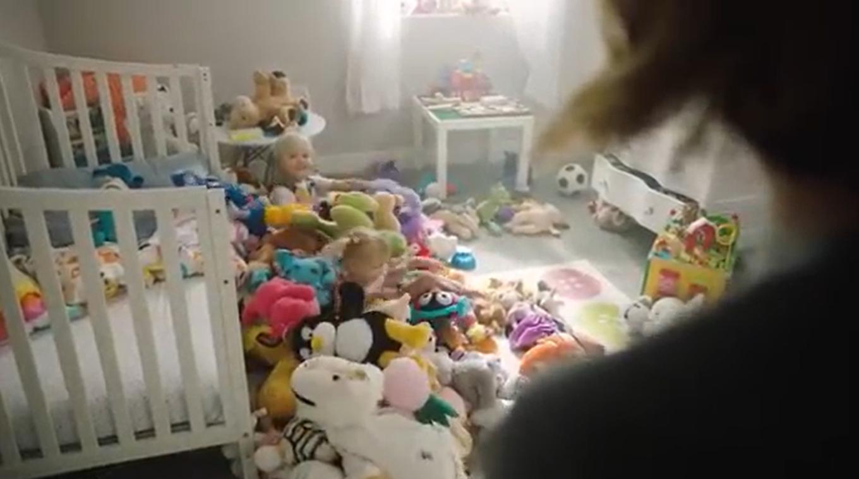毛绒玩具收纳神器